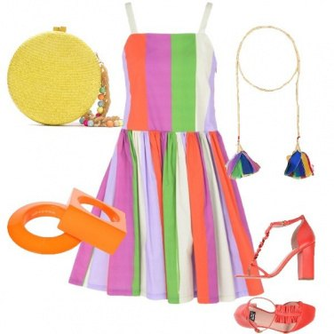 Outfit Arcobaleno Style