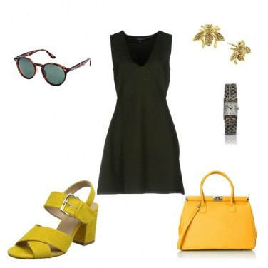 Outfit Yellow Green