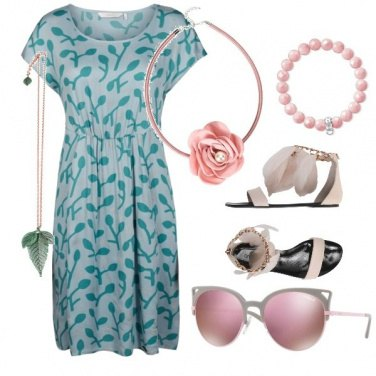 Outfit Verde vs rosa 2a4