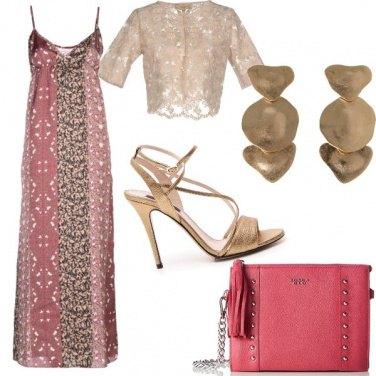 Outfit Oro e rosa antico
