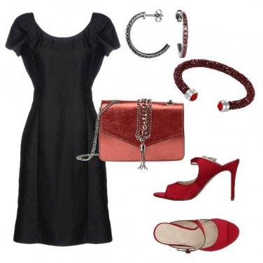 Outfit Tubino nero e... 1841