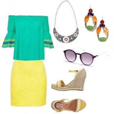 Outfit Rainbow mood