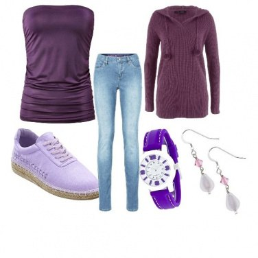 Outfit Outfits viola pantone