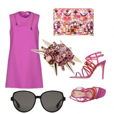 Outfit Colore ed eleganza