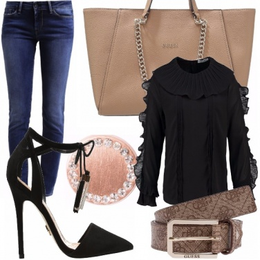 Outfit Soft black