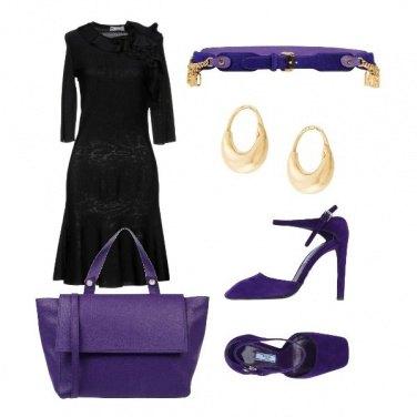 Outfit Viola il colore del potere e prestigio