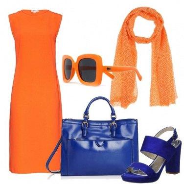 Outfit Arancio dagli occhi del cielo