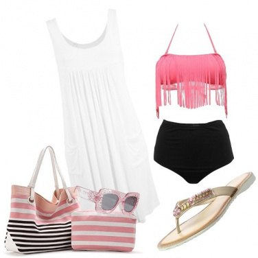 Outfit Pink holiday