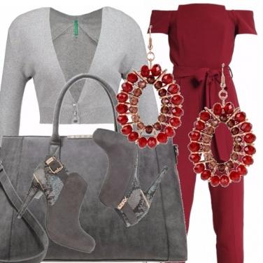 Outfit Variazioni sul tema grigio