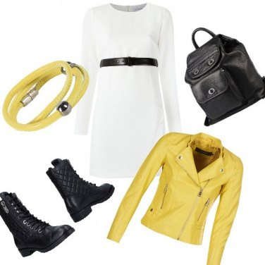 Outfit Rock and Yellow