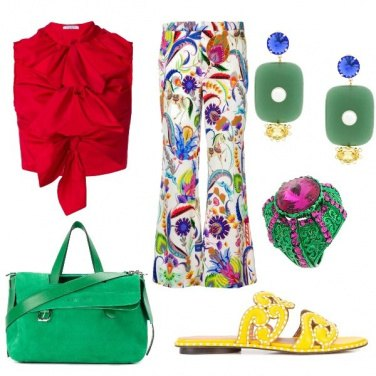 Outfit L'arcobaleno addosso