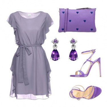 Outfit Miss violet