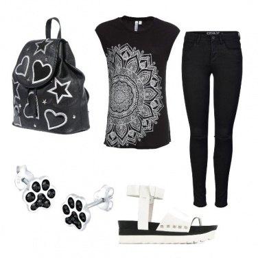 Outfit CMPS Volevo un gatto nero