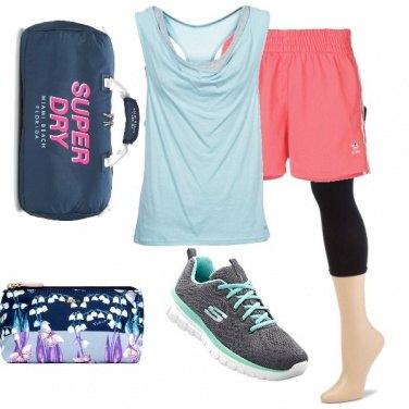 Outfit Pilates al parco