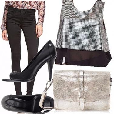 Outfit Dettagli argento!