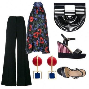 Outfit Papaveri e Fiordalisi