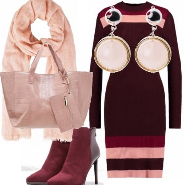 Outfit Grappoli rosa