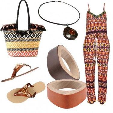 Outfit Etnico puro