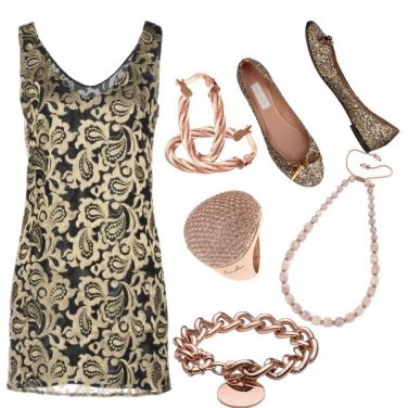 Outfit Ricami d'oro