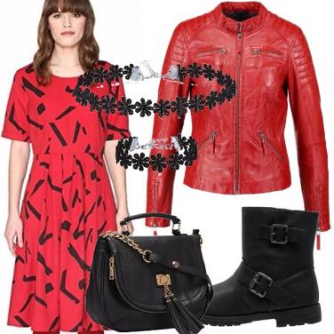 Outfit Il rosso che stuzzica