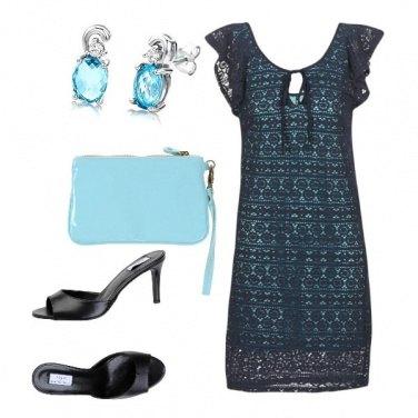Outfit Qualche tocco di azzurro