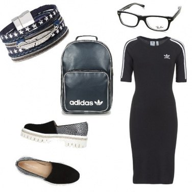 Outfit Urban, primo giorno all\'università