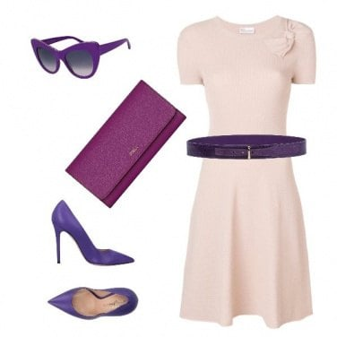 Outfit Violet in The day
