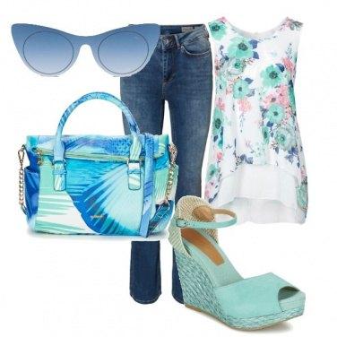 Outfit Con i colori del cielo