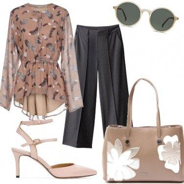 Outfit La blusa arricciata