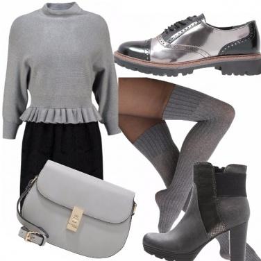 Outfit Pazza per il grigio!