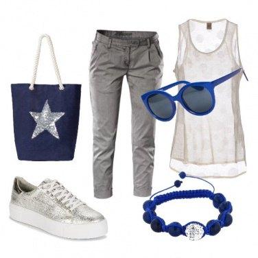 Outfit Dettagli blu