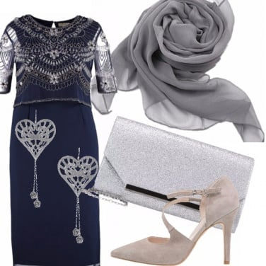 Outfit Cuori e fiori