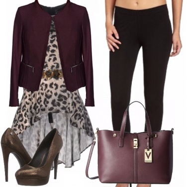 Outfit Con grinta in autunno