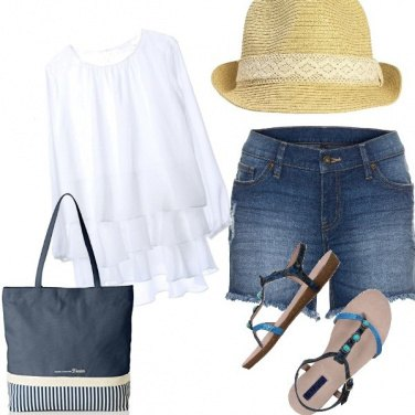 Outfit Acqua e sapone