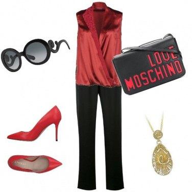 Outfit La signora in rosso!