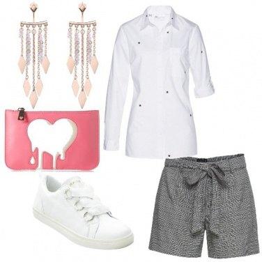 Outfit La mia camicia bianca