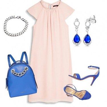 Outfit Accessori blu elettrico