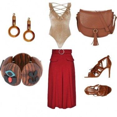 Outfit Etnico da città