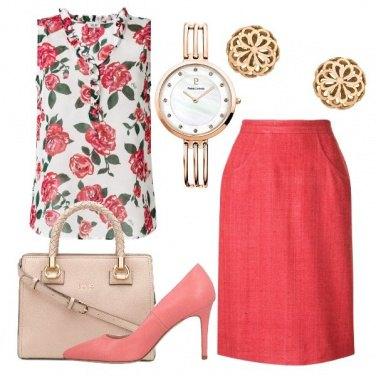 Outfit Rose in ufficio