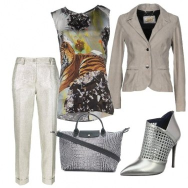 Outfit Tiger woman