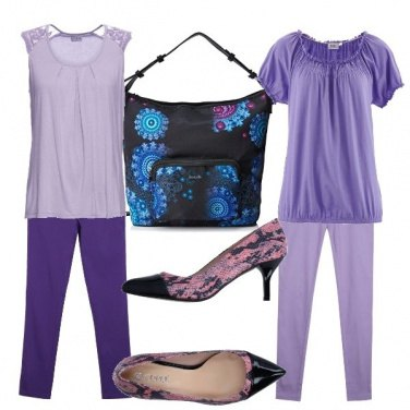 Outfit Ultra violet