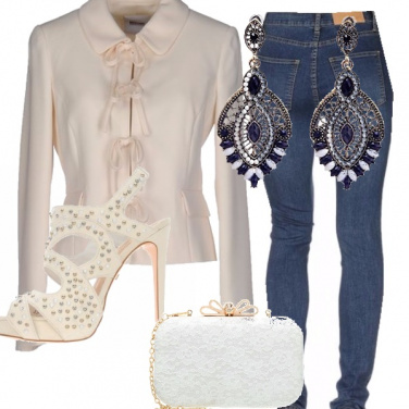 Outfit Cerimonia in jeans