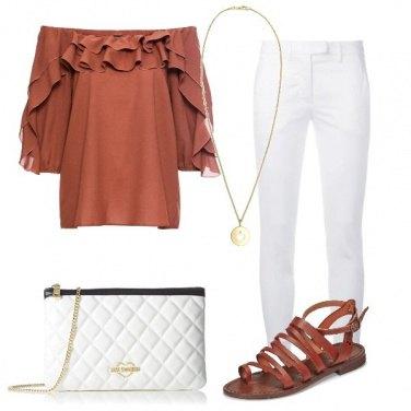 Outfit La blusa passpartout