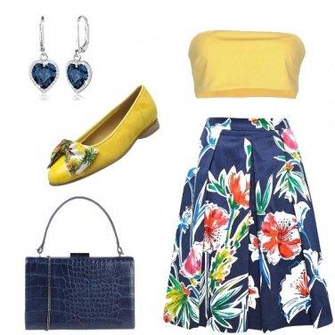 Outfit La borsa stampa cocco