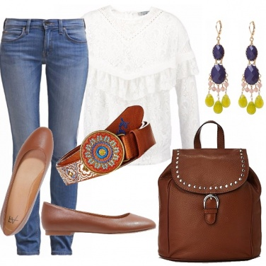 Outfit Country romantico!