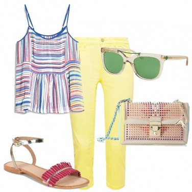 Outfit La semplicità dei colori