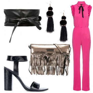 Outfit Una jumpsuit per il party