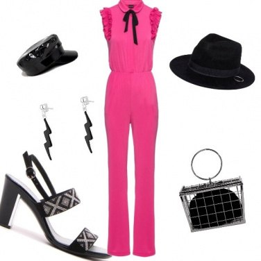 Outfit Shocking pink