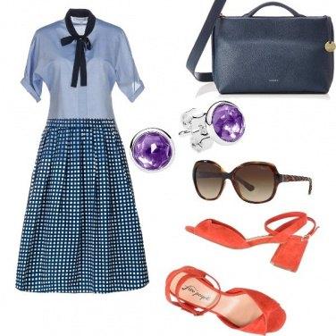 Outfit Bon Ton, con accessori chic