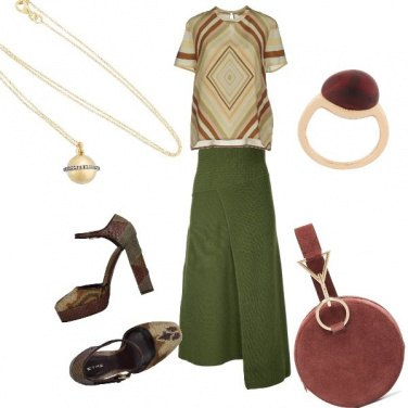 Outfit Chic etnico